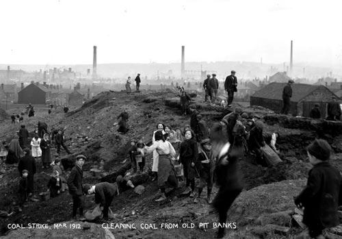Lo sciopero del carbone del 1912 for Costo seminterrato di sciopero