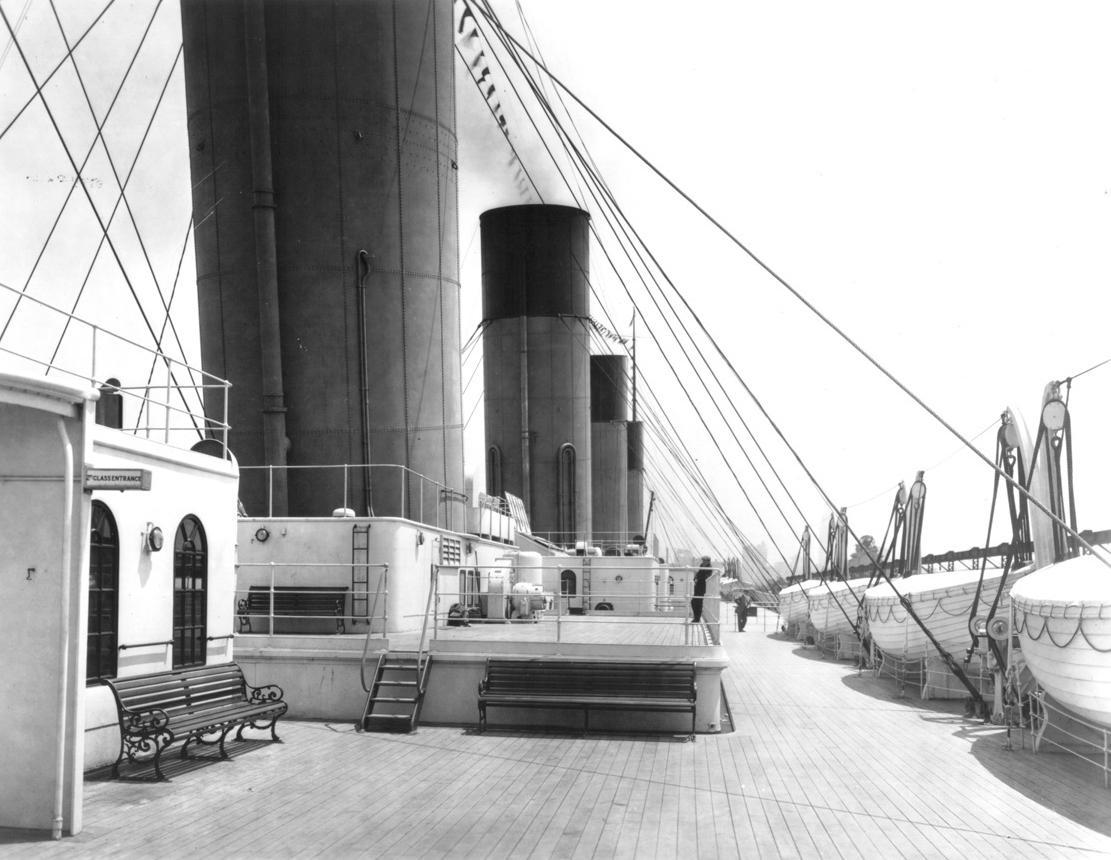 Il titanic for Disegni ponte veranda